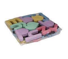 Lettermagneten (pastelkleuren/ kleine letters)