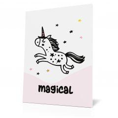 Wanddoek unicorn