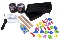 Decoverf combinatieset magnetisch schoolbord